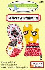 Decorative Oven Mitts